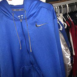 Blue Nike Hoodie Thumbnail