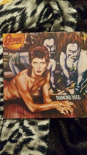 Vinyl David Bowie Diamond Dog Record for Sale in Fairfax, VA