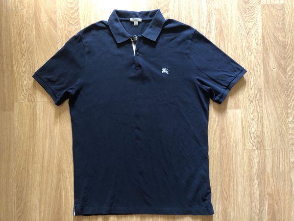 Burberry Brit polo shirt XXL black 100% Authentic Gucci Louis Vuitton Prada df7d39f6080