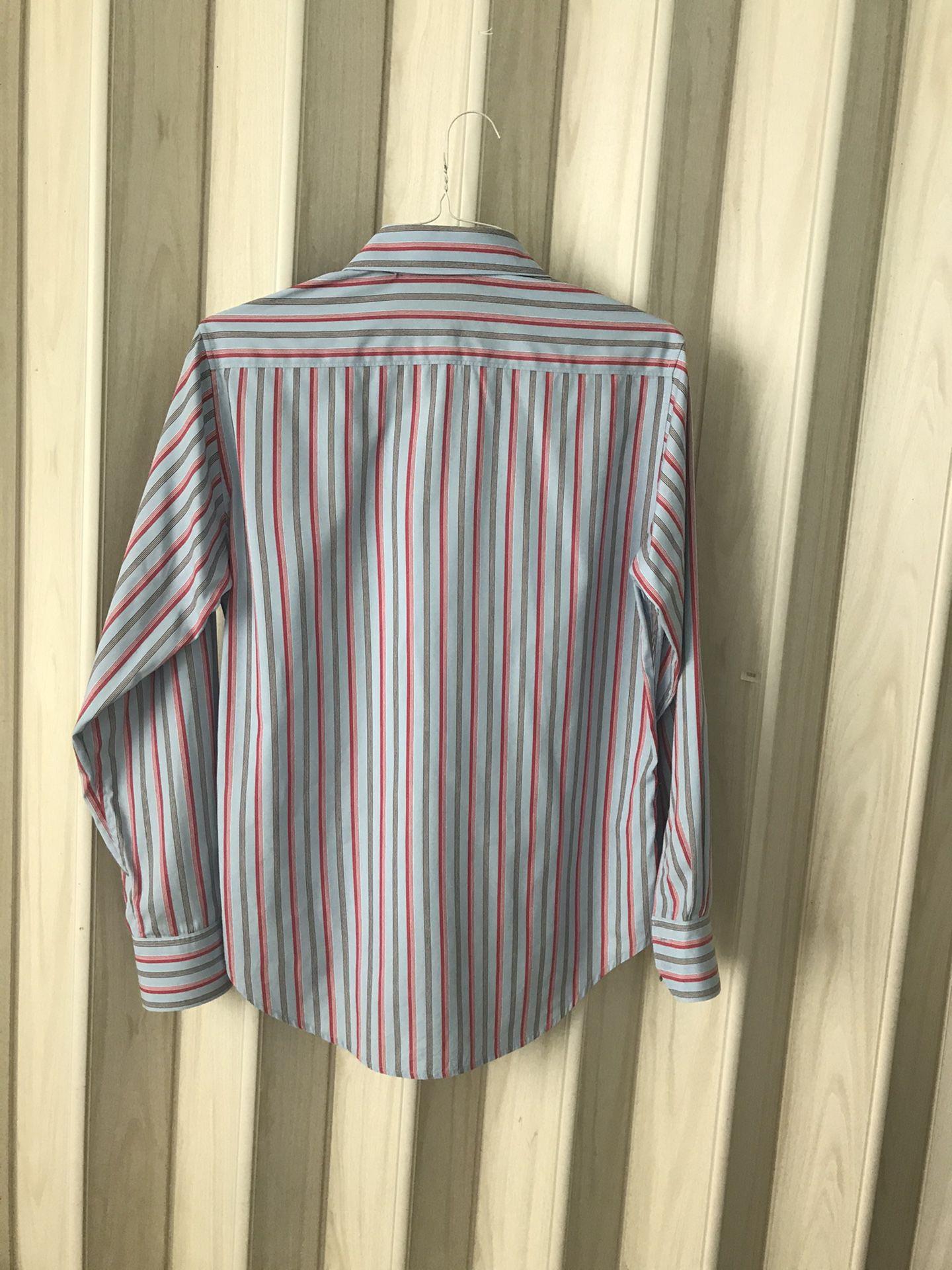 ROBERT GRAHAM; DRESS; SHIRT BUTTON DOWN  SIZE S
