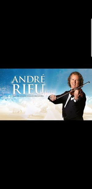 1 ticket Andre Rieu concert for Sale in Fairfax, VA