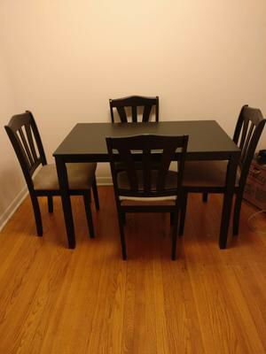 New!! dining room set, dining room table and chairs ...