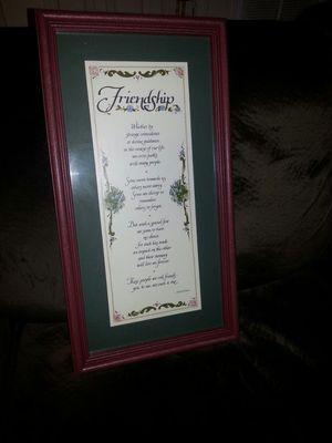 "Home Interior ""Friends"" Picture - Brand New for Sale in Bedford, VA"