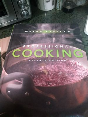 Professional Cooking Cook book for Sale in Denver, CO