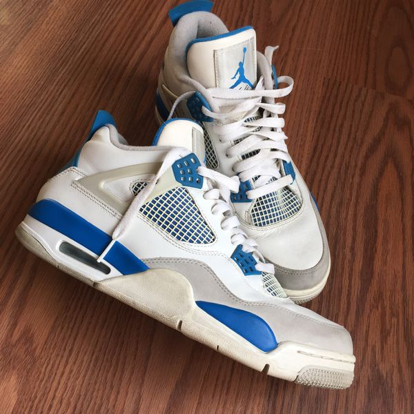 premium selection 7e5c7 55259 Air Jordan retro 4s (Military Blue) size (10) for Sale in Phoenix, AZ -  OfferUp
