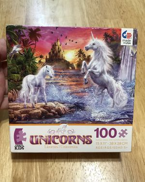 100 puzzle Unicorns and Pictionary game for Sale in Fort Lauderdale, FL