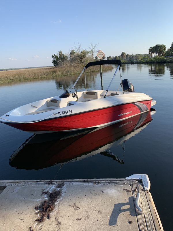 2015 Bayliner Element w/ warranty for Sale in Spring Hill, FL - OfferUp