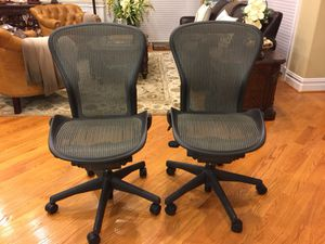 Herman Miller Aeron executive office chair for Sale in Annandale, VA
