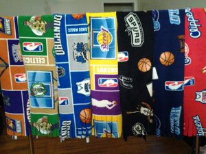 NBA Fleece Scarves. Mix/Match for Sale in Irwindale, CA