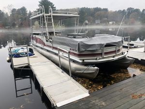 New And Used Pontoon Boat For Sale In Holyoke Ma Offerup