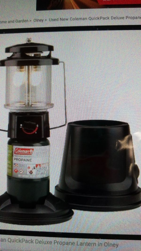 New Coleman propane lantern for Sale in Silver Spring, MD - OfferUp