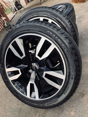 Photo 22 inch chevy RST oem wheels with tires (hablo español)