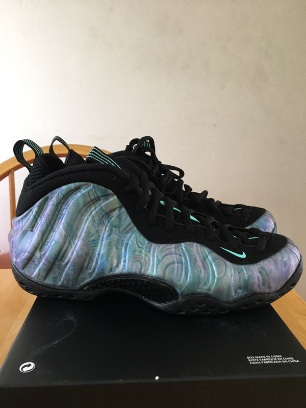 online retailer 4b662 3a111 Brand new Nike air foamposite one premium Abalone basketball shoes men's  size 10 penny Hardaway foams for Sale in La Mesa, CA - OfferUp