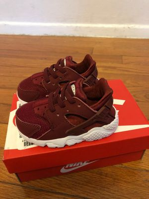 Nike huarache run shoes baby boy sz5 for Sale in Silver Spring, MD