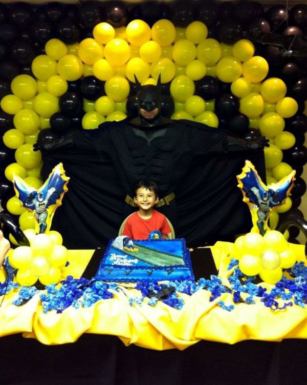 Batman Birthday Party Decor And Character Entertaiment For Sale In