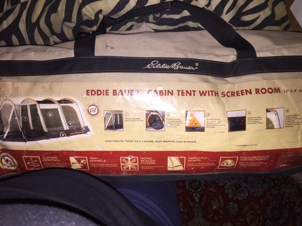 Eddie Bauer Cabin Tent With Screen Room For Sale In New Market Md