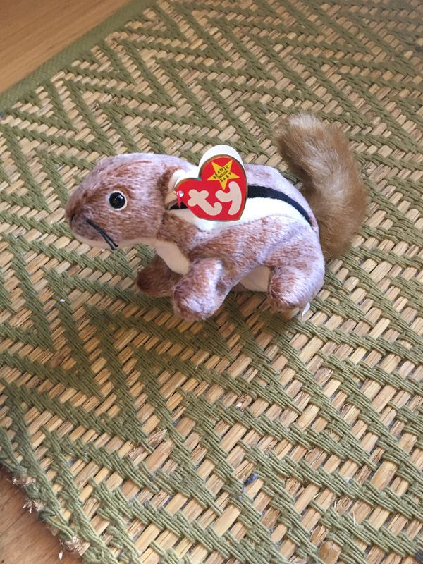 """6fa1bb45c6c Ty Beanie Baby """"Chipper"""" Chipmunk for Sale in Los Angeles"""