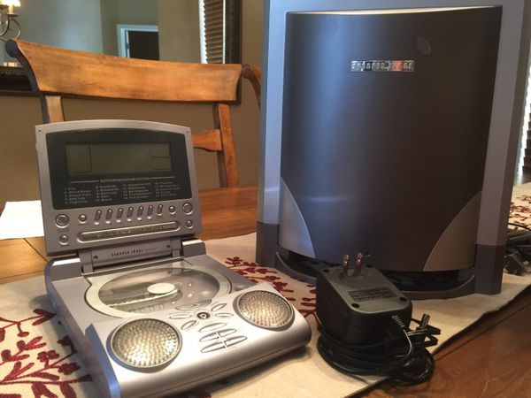 Sharper Image Portable Cdsootheralarmradio For Sale In Gilbert Az