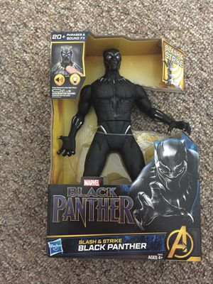 Brand new Black panther 13 inch action figure for Sale in Oviedo, FL
