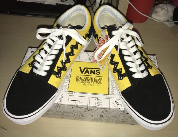 d40fda1faf2 Peanuts Charlie Brown Old Skool Vans Limited Edition Size 8 Men s   Size  9.5 Women s for Sale in Pico Rivera