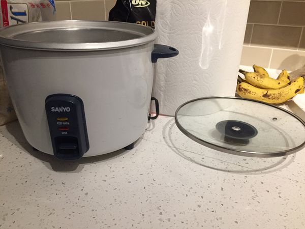 Rice Cooker with many optional kitchen supplies for Sale in Austin ...