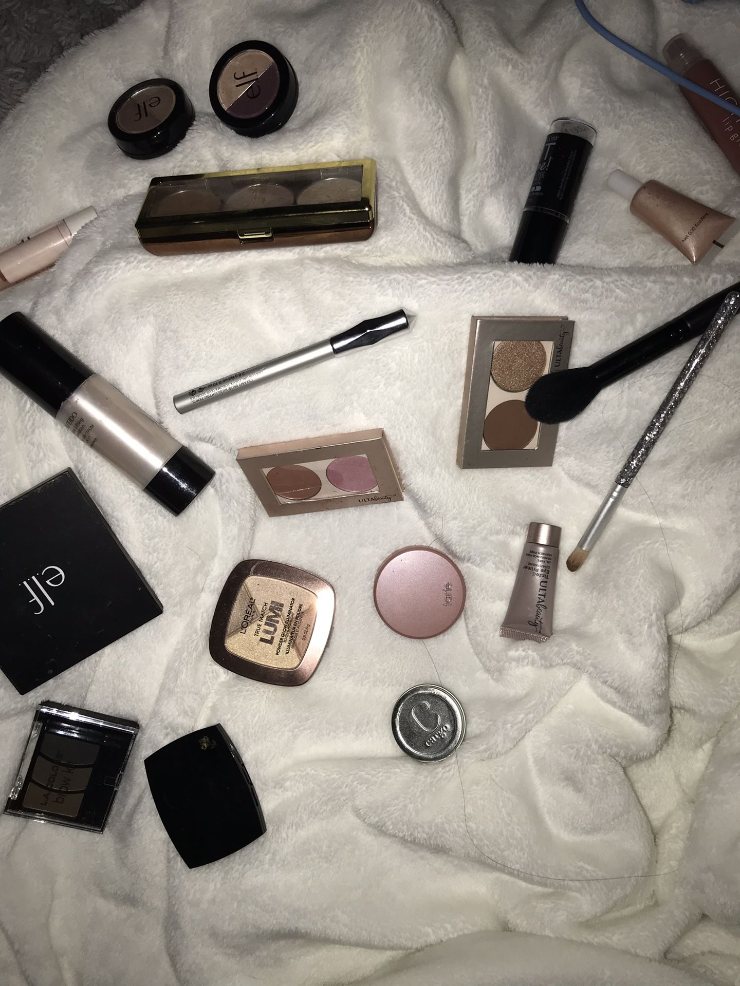 Lots of random makeup products