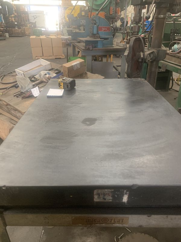 Collins Micro Flat Granite Surface Plate For Sale In