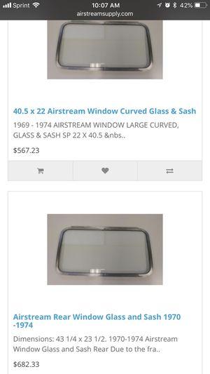 Argosy Airstream Front circle glass window for Sale in Atlanta, GA