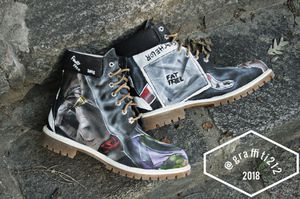 Size 13 custom timbs (originally made for Fat Trel) for Sale in Washington, DC