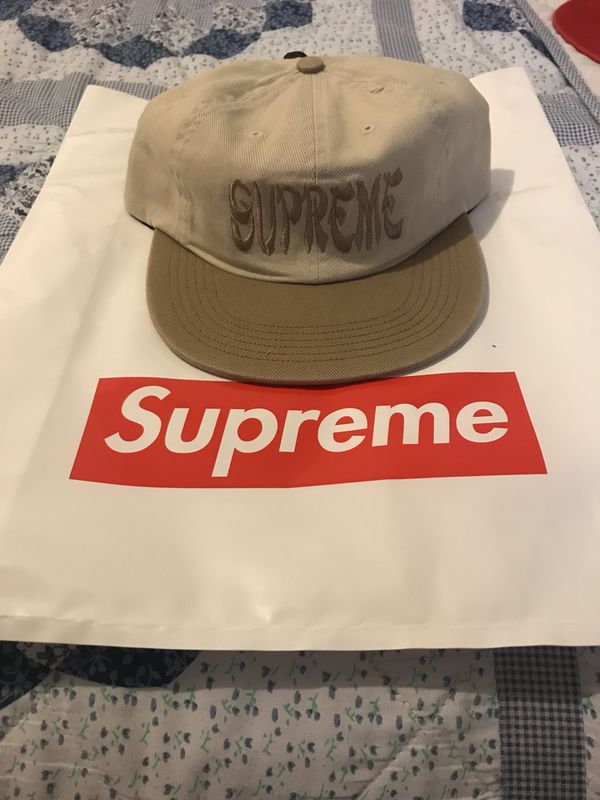 4836ac23 Supreme Shaolin 6-Panel Hat Tan for Sale in Englewood Cliffs, NJ ...