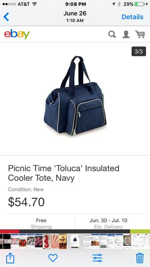 Picnic tote. NEW for Sale in Pittsburgh, PA