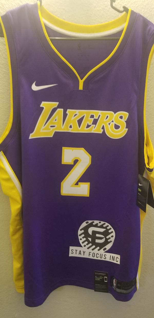 6db83dd20e8 Nike Lakers Jersey Ball  2 Dri-fit size 3XL for Sale in Riverside ...