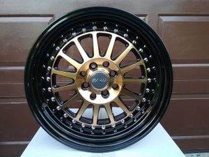 16x8.5 wheels new in boxes 4 lug universal for Sale in Hollywood, FL