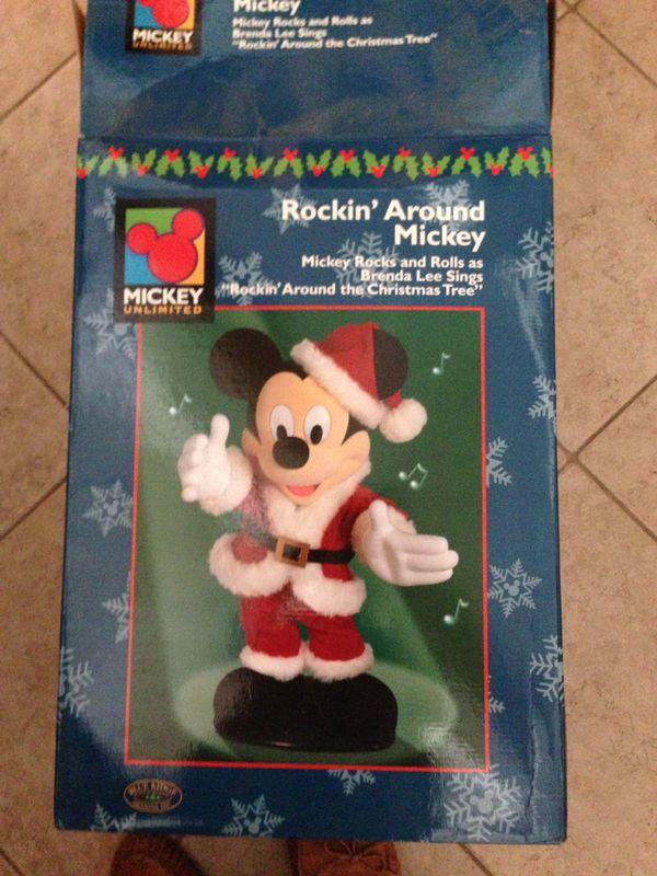 Who Sang Rockin Around The Christmas Tree.Rockin Around Mickey Mouse Animated As Brenda Lee Sings