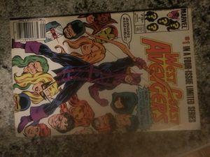 Teen Titans #1 &West Coast Avengers no 1 for Sale in Auburn, WA