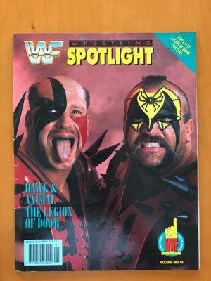 WWF (wwe) rare spotlight magazine no 14 legion of doom for Sale in Scottsdale, AZ