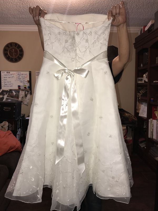 Wedding Dress From Davids Bridal Size 4 For Sale In Fort Worth Tx