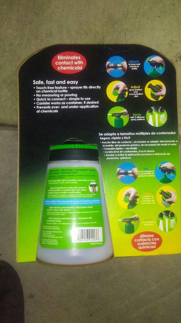 Chameleon Hose End Sprayer Concentration - Hose Image and