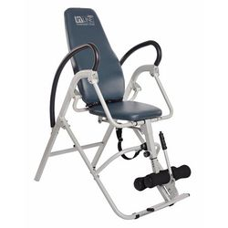 Stamina Inline Gray Back Pain Relief Seated Inversion Therapy Table Chair   1550 - mobility - recovery Gray - Stamina Inline Inversion Chair Thumbnail