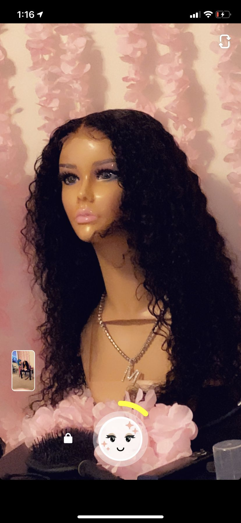Handmade Deep Wave Wigs For Sell