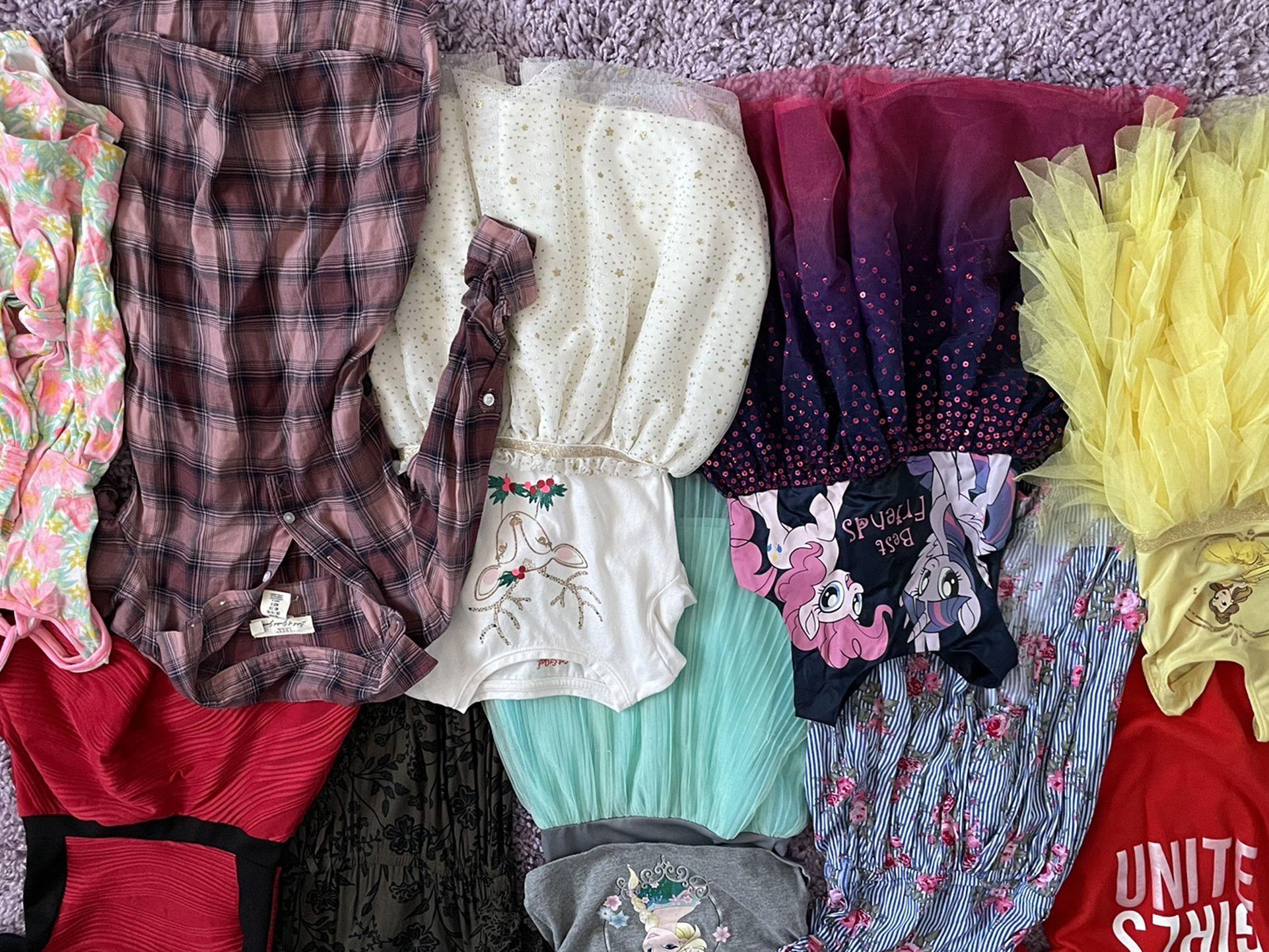 Lot Of 4t Dresses