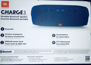 Jbl 3 waterproof Bluetooth speaker for Sale in Manassas, VA