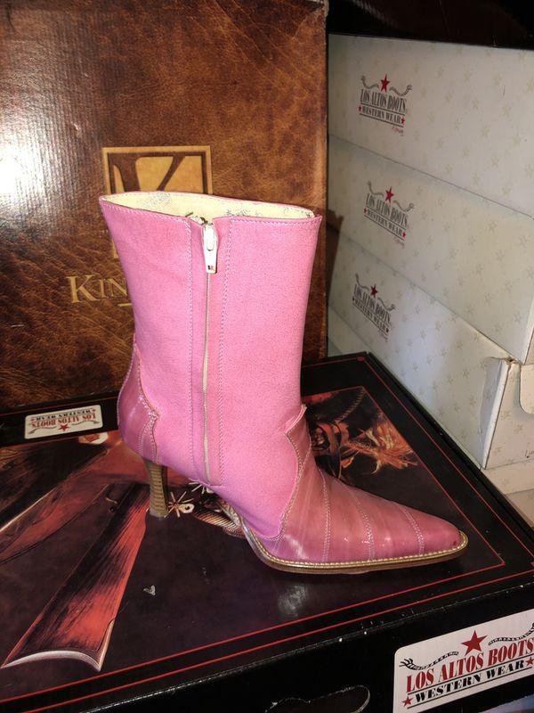 4e0706d0a18 Ladies Eel Skin Boot (7) for Sale in Jonesboro, GA - OfferUp