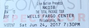 2 HARDS tickets for tomorrow's concert NKOTB, BOYS II MEN for Sale in Philadelphia, PA