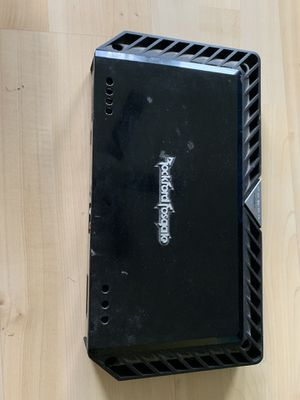 Photo Rockford Fosgate Amp T1500