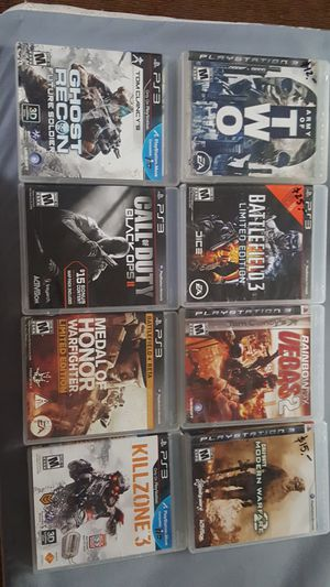 Ps3 games 10$ each for Sale in Las Vegas, NV