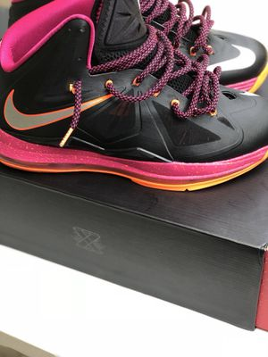 new arrival f86cf 60b83 Nike Lebron 10- Floridian for Sale in Chesterfield, VA