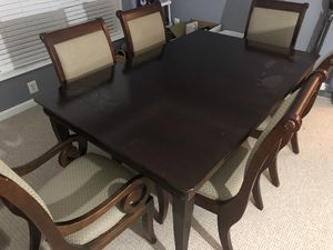 Kitchen table and chairs - Oak for Sale in Ashburn, VA