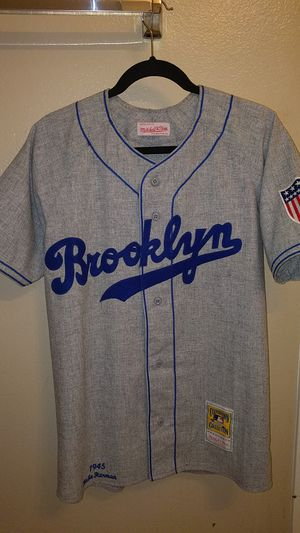 pretty nice 7d8fc 0f795 Vintage Mitchell & Ness Brooklyn Dodgers Jersey for Sale in ...