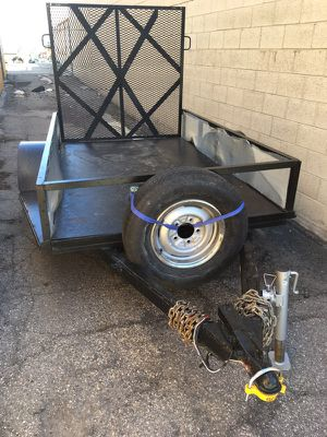 5x8 trailer heavy duty for Sale in Salt Lake City, UT
